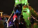 Раквере продолжает эксперименты с рождественской елью
