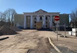 """Нарва продолжит обновление парка возле бывшего ДК """"Герасимова"""""""