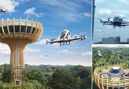 В Италии построят специальные посадочные площадки для воздушных такси