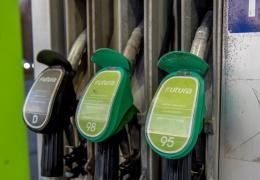 В Нарве с автозаправки украли топливораздаточный пистолет