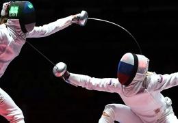 На Олимпиаде в Рио эстонские шпажистки в матче за третье место проиграли россиянкам