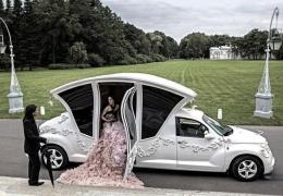 Карета для свадебных торжеств