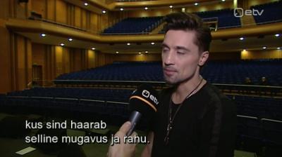 Дима Билан: в странах Балтии никто не врывается в душу без стука