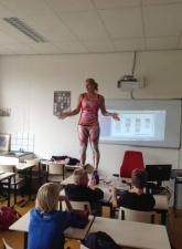 Талантливая учительница биологии