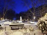 На Европу обрушились сильные снегопады