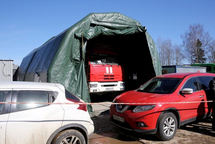 В 30 км от Москвы строят больницу на 500 мест для пациентов с подозрением на коронавирус