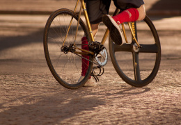 В Нарве 10-летнего велосипедиста подвели тормоза