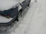 Зимний розыгрыш соседа