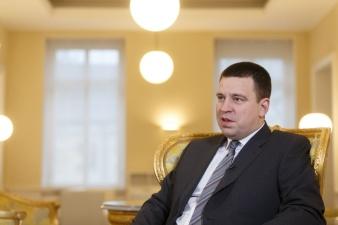 Юри Ратас: желаю жителям Эстонии счастливого, успешного и достойного юбилейного года!