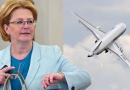 Falcon вместо Superjet: Российский минздрав отказался летать на отечественном авиапроме