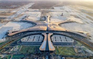 В Пекине открылся огромный аэропорт с самым большим в мире терминалом