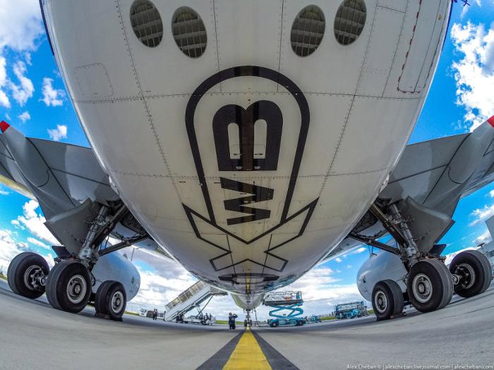 Самый стильный и современный аэробус