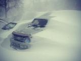 На Дальний Восток обрушился сильнейший снегопад
