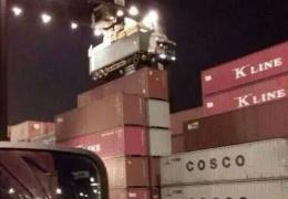 Забыл отцепить контейнер