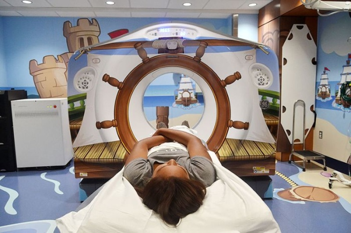 Компьютерный томограф в пиратском стиле