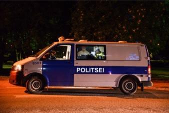 Нетрезвая девушка без прав помяла 12 автомобилей в Таллинне