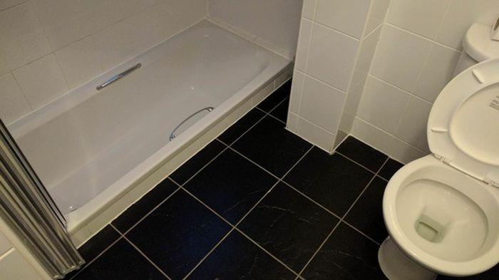 Необычные ванные комнаты в британском отеле