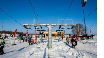 В парке развлечений Кивиыли открыли зимний сезон