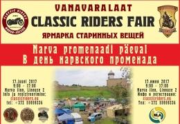 В Нарве пройдет ярмарка старинных вещей «ClassicRidersFair»