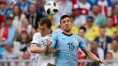 Футболисты сборной России проиграли соперникам из Уругвая