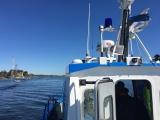 На реке Нарова проверяли рыбаков и рыбацкие лодки