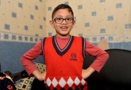Мальчик шести лет спас семью от грабителей