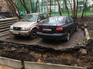 В Москве коммунальщики сделали противоугонную систему для водителей, но те ей не рады