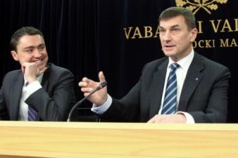 Рыйвас: Ансип не виноват в потере российского транзита, а в Ида-Вирумаа большинство безработных не владели эстонским