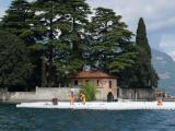 Как делали плавучий пирс в Италии