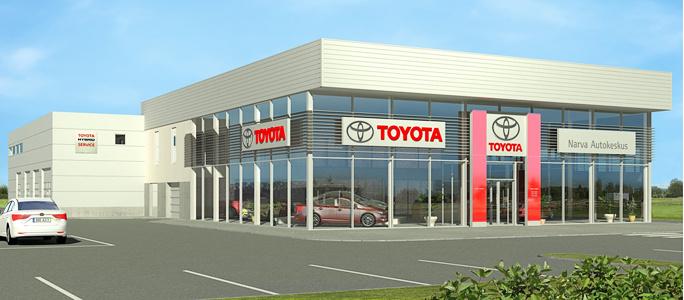 В Нарве будет построен центр Toyota