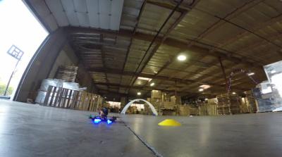 Гонки на дронах