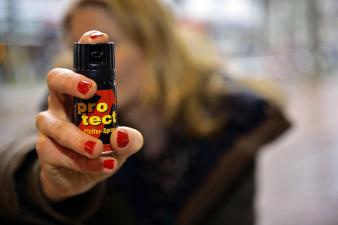 В Кохтла-Ярве женщина брызнула газом в полицейского