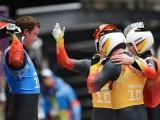 Российские саночники стали вторыми в олимпийской эстафете