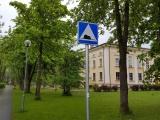 Парковка для НЛО: в Кохтла-Ярве установили странные дорожные знаки