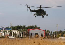 В Сирии сбили вертолет Ми-25 с российским экипажем