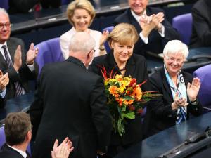 Ангела Меркель в третий раз избрана канцлером Германии