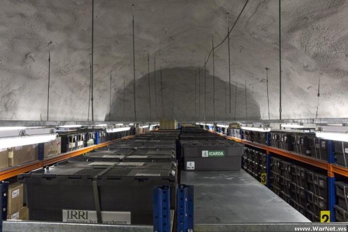 Глобальный склад семян на Шпицбергене на случай конца света