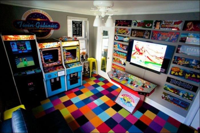 Комнаты фанатов компьютерных игр