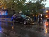 В Нымме автомобиль въехал в дом, пострадал ребенок