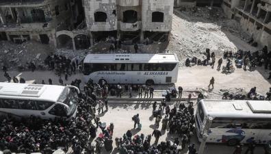 Минобороны: 6,5 тысячи боевиков вывезены из сирийского Арбила