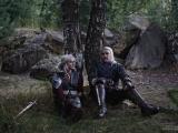Ведьмак и Цири от московских косплееров
