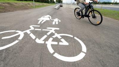 Строительство велодорожки между Нарвой и Нарва-Йыэсуу вероятно перенесут на 2018 год