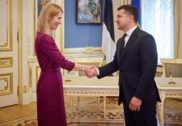 Каллас и Зеленский подписали заявление о поддержке вступления Украины в ЕС