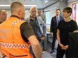 Президент Эстонии приехала в Википалу посмотреть на горящий лес