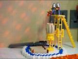 Прицеп-караван в натуральную величину из конструктора Лего