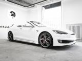 Итальянцы из Ares Design создали сексуальный двухдверный кабриолет Tesla Model S