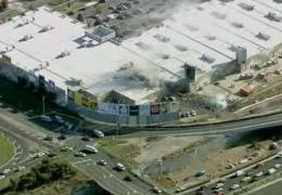падения самолета на торговый центр в Мельбурне