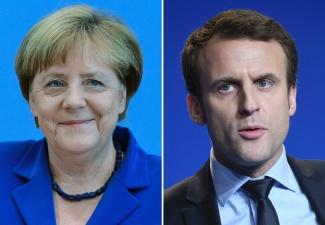 Меркель и Макрон проведут в Таллинне двусторонние переговоры