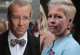 Бывшая супруга президента Эстонии после развода осталась без пособия по безработице