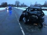 Департамент: дорожная служба ночью девять раз обрабатывала место аварии, где погибла женщина